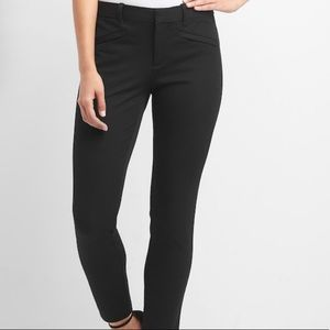 GAP Signature Skinny Ankle Black Pants